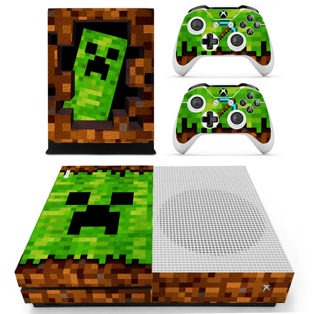 جديد لعبة الجلد ملصق مائي غطاء ل Xbox One S وحدة التحكم وأجهزة التحكم ل Xbox One سليم جلود ملصقات الفينيل