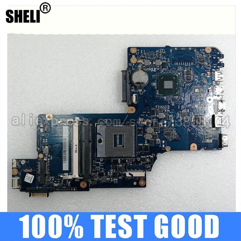 SHELI-اللوحة الأم H000043520 لأجهزة الكمبيوتر المحمول ، 17.3 بوصة ، لـ Toshiba Satellite C875 L870 L875 ، Intel DDR3 PAVILION