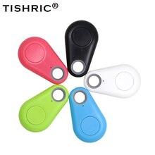 TISHRIC 2PCS 4PCS Wireless Wallet Key Finder Smart Remote Control Anti Lost Keychain Bluetooth Tracker Tags Keyfinder