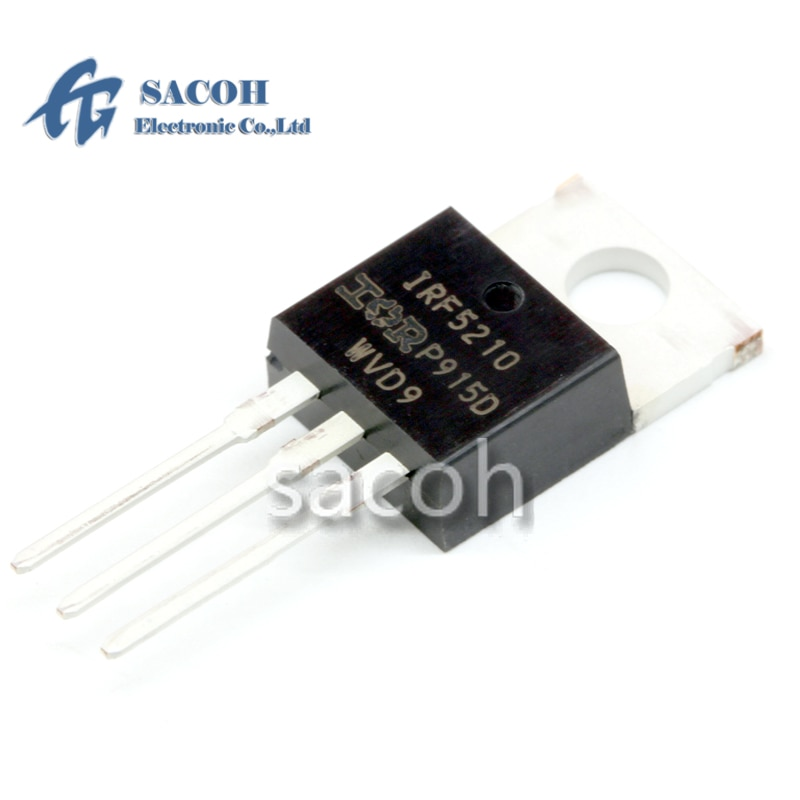 New original 10PCS/Lot IRF5210 IRF5210PBF or IRF5210S F5210S or IRF5210L F5210L TO-220 P-Ch -100V -40A Power MOSFET