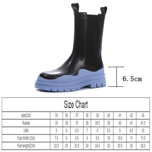 AIYUQI Chelsea Boots Women Genuine Leather New Luxury Ankle Boots Girl Autumn Winter Shoes Platform Slip On Martin boots Women 10
