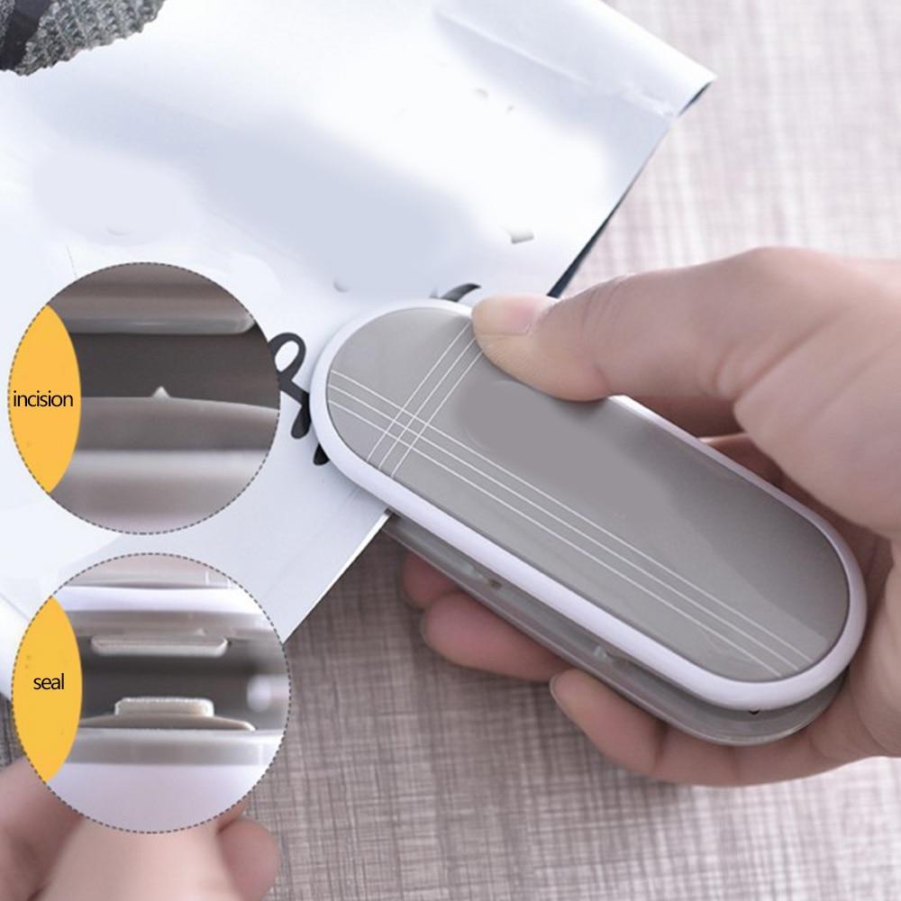 Mini Food Package Heat Sealing Machine Impulse Sealer Manual Packing Tool Food Sealer Heating Sealing Tool