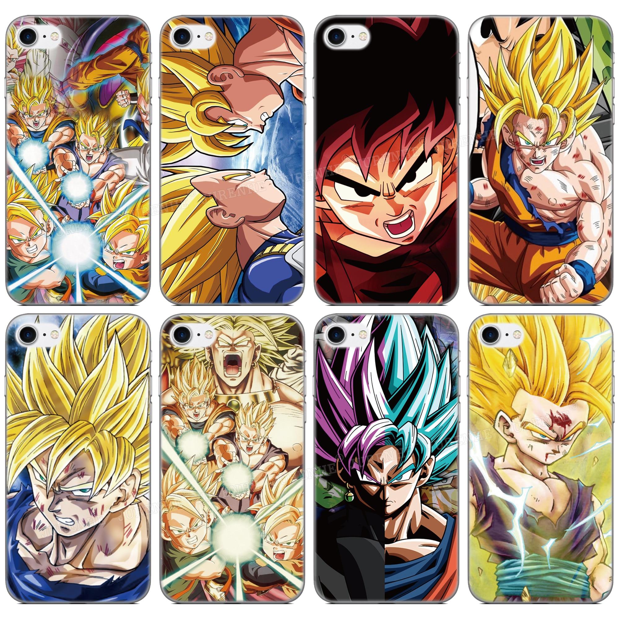 TPU Soft Silicone Dragon Ball Z Goku Phone Case For Sharp-Aquos R5G S2 R R3 V Zero 2 R2 Compact S3 High Sense 3 Lite Plus Cover