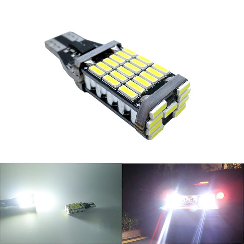 1Pc T16 T15 921 W16W LED Bulb LED Backup Light 921 912 W16W Car Reverse Lamp For VW Passat B7 Toyota Corolla Camry RAV4 Yaris