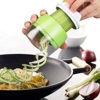 4 in 1 handheld adjustable spiral grater screw machine vegetable and fruit slicer salad tool pasta maker kitchen accessories