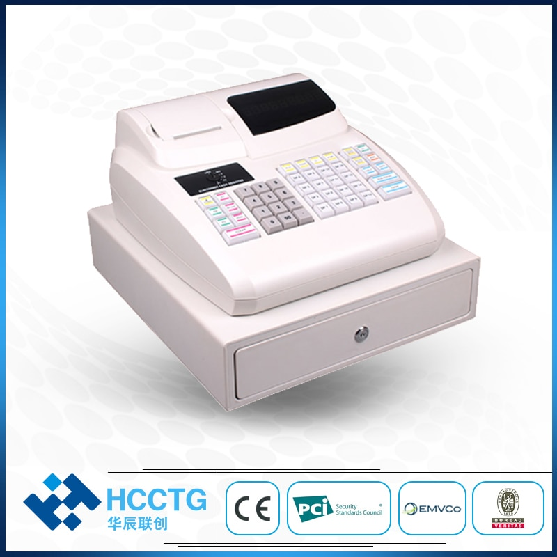 Compact and Easy Electronic Portable POS Cash Register with Application Software ECR-100