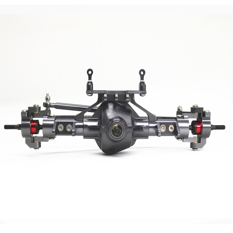1/10 Simulation Climbing Car SCX10 Front and Rear Axle Metal Accessories Front and Rear Axle Assembly D90 Off-road Vehicle enlarge