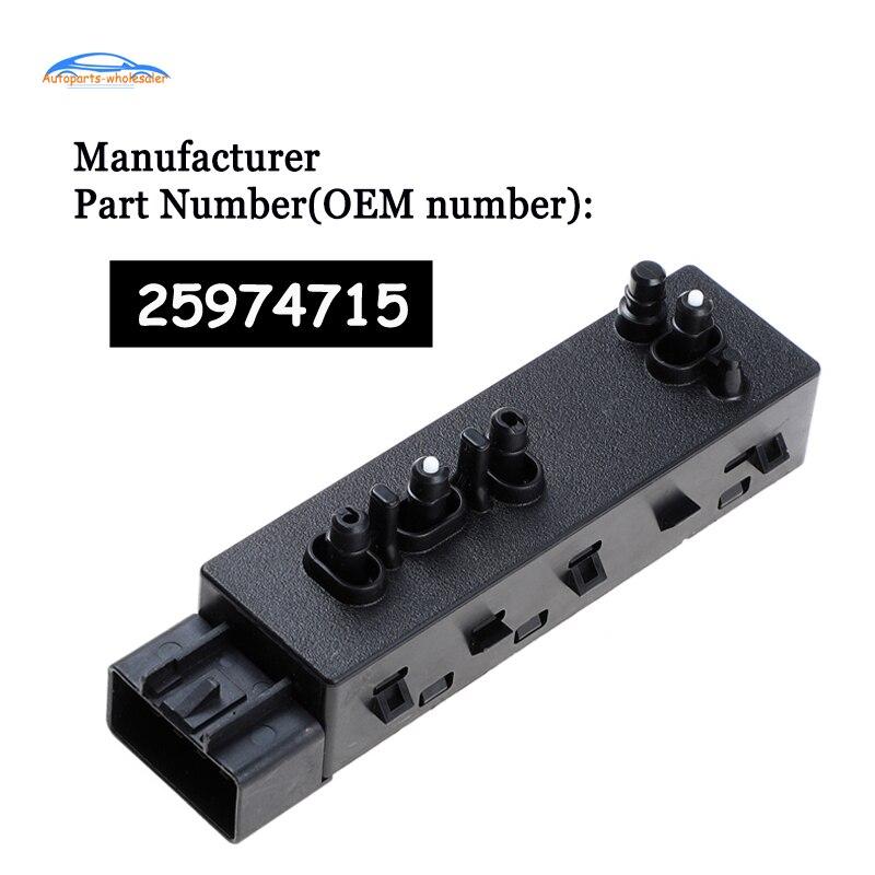 Nouveauté 25974715 accessoires de siège dalimentation   Pour Chevrolet Camaro GMC, interrupteur de siège dalimentation, accessoires de voiture