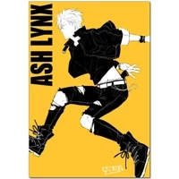 new arrival banana fish anime canvas painting poster home decor cloth fabric wall art poster for living room 27x40cm30x45cm