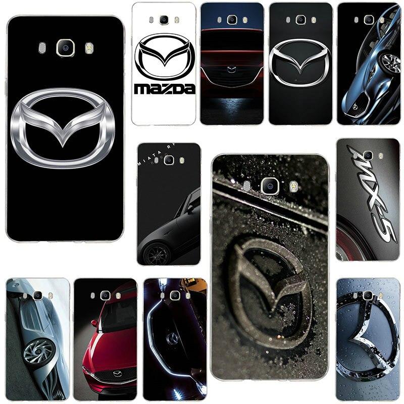 Soft Cases For Samsung Galaxy Note 2 3 4 5 8 9 10 A10 A20 A30 A40 A50 A60 A70 A80 A90 Luxury Sports Car Mazda Logo