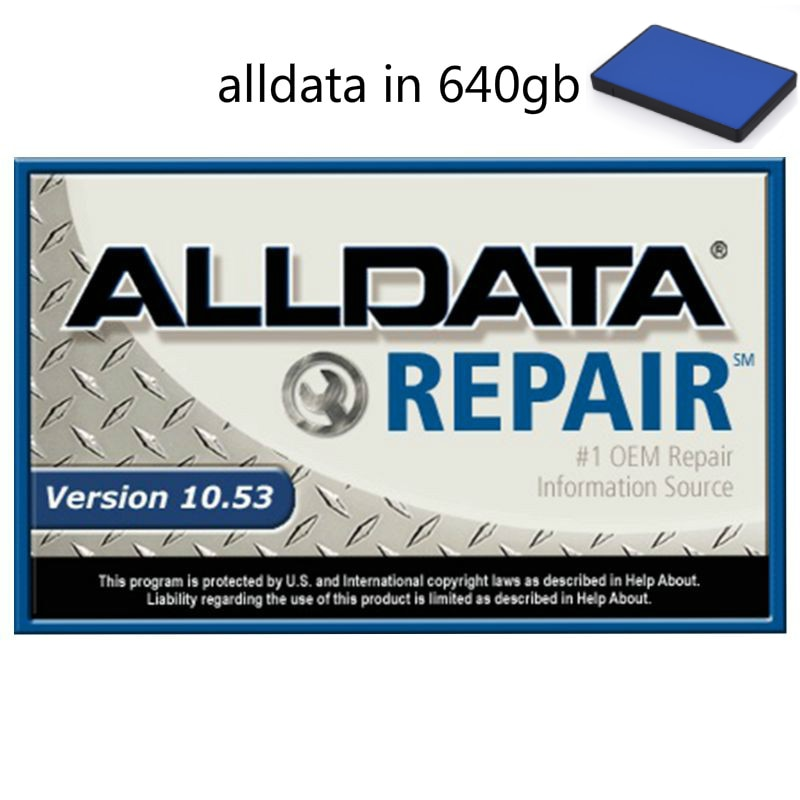 2021 Alldata Auto Repair Software 10.53v All Data Software with Tech Support for Automotive Cars and