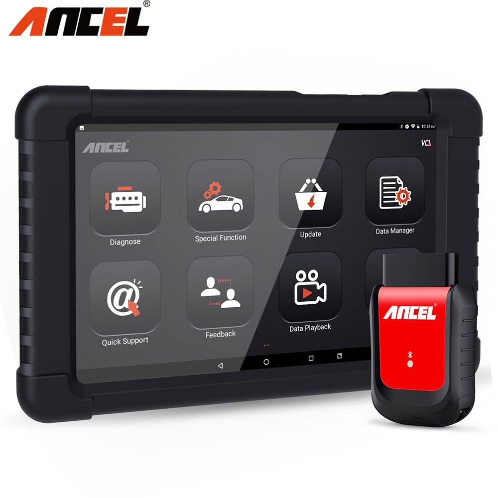 Ancel x6 bluetooth & wifi profissional obd2 scanner sistema completo dpf sas abs epb óleo redefinir scanner automotivo ferramenta de diagnóstico do carro