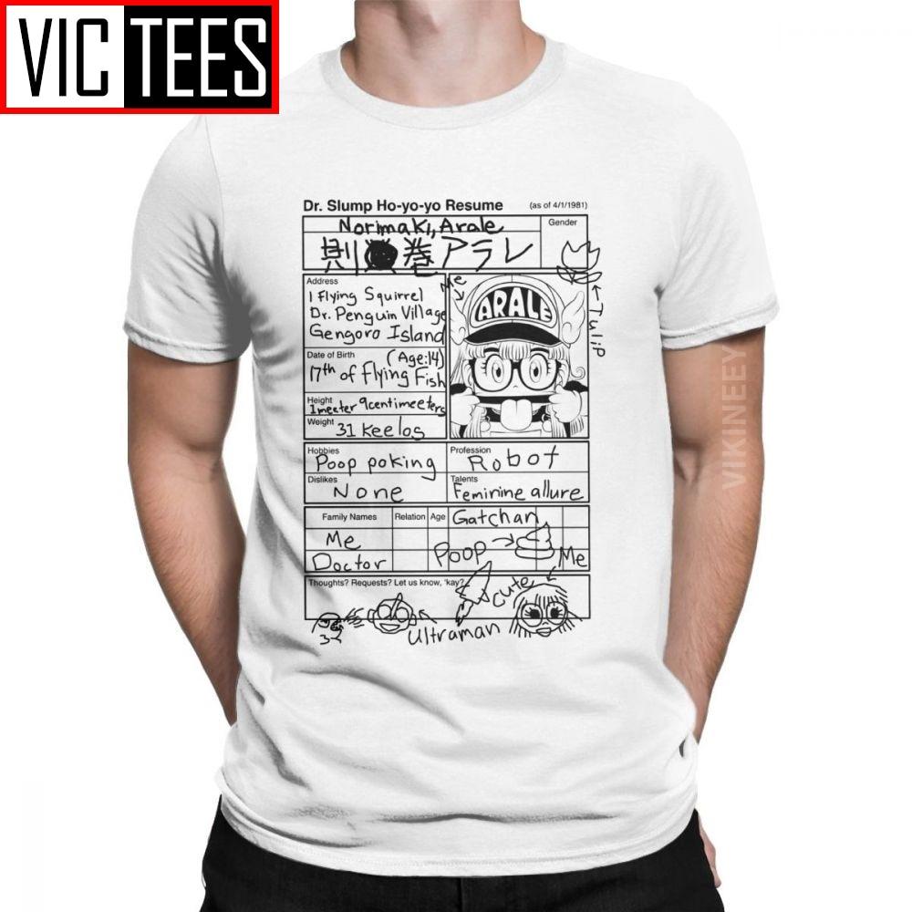 Мужская футболка с принтом «Arale» для маленьких детей, Dr Slump, аниме, манга, 90s, милый робот, 80s, хлопковая зимняя футболка