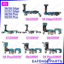 Chargeur Dock Conner Capteur clavier Pour Samsung S6 S6Edge S7 S7Edge S8 S9 Plus G960F Carte De Charge Flex G925F G935F G950F G955F