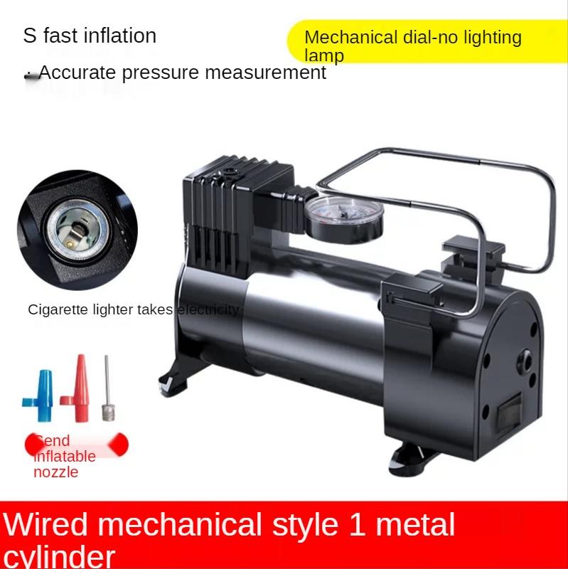 Автомобильный насос для наполнения шин, портативный мини-воздушный компрессор 12 В, Электрический надувной насос, воздушный компрессор для ...