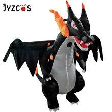 JYZCOS Anime Cospaly adulte hommes Spitfire dinosaure gonflable Costume mascotte de noël adultes Halloween dinosaure Costume pour les femmes