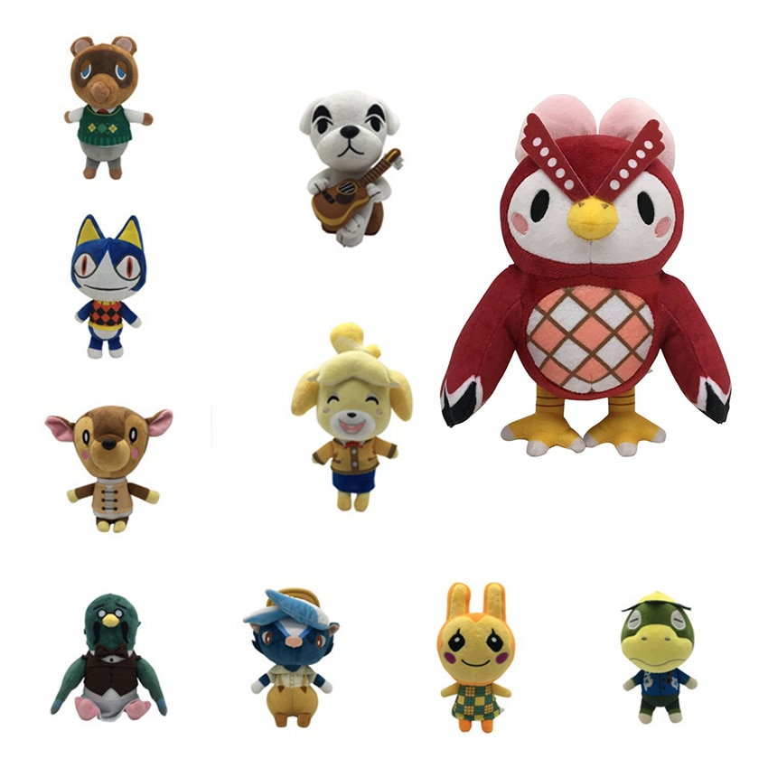 Juguete de peluche para Cruce de Animales de 21cm, muñeco de peluche con dibujos de Raymond New Horizons Merch 1 Uds. Amiibo Card stitch, juguetes de peluche KK Isabel