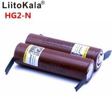2019 Liitokala neue HG2 18650 3000mAh batterie 18650HG 2 3,6 V entladung 30A, gewidmet batterien + DIY Nickel