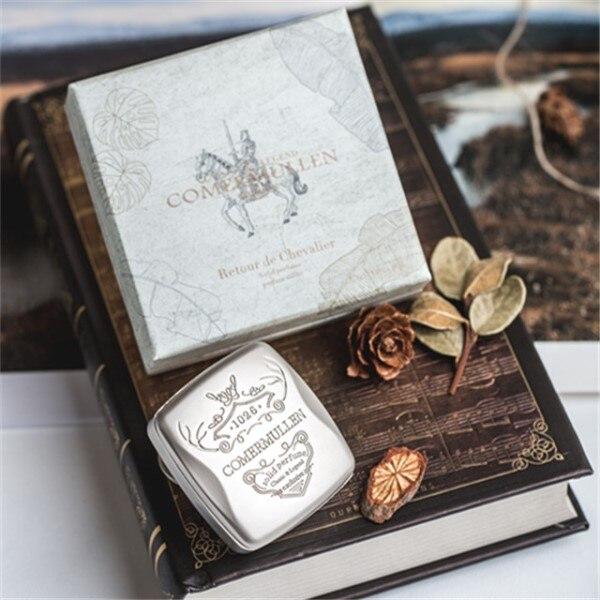 Perfume feminino sólido retro design rotativo bolso bálsamo mágico fragrâncias de longa duração romântico fresco colônia bálsamo parfum men