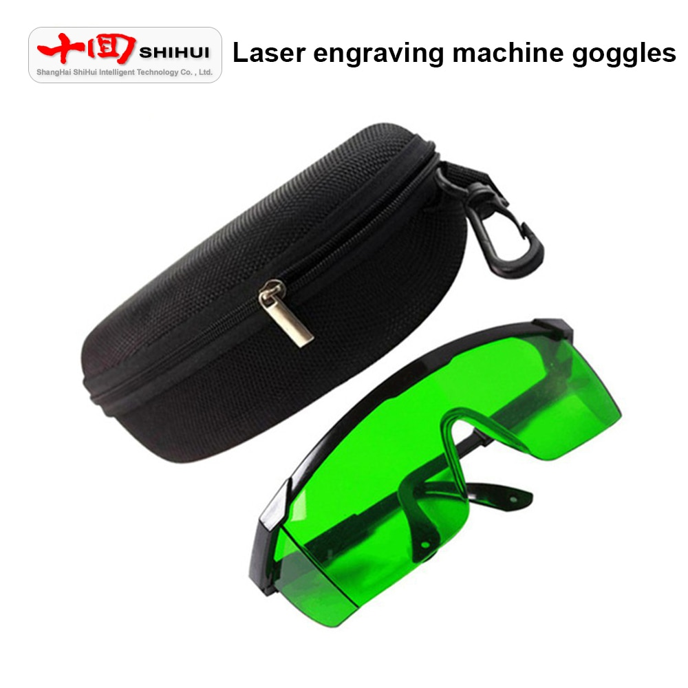 Laser Goggles Protection Wavelength 200-450nm/800-2000nm/1064nm UV For Aaser Engraving Machine