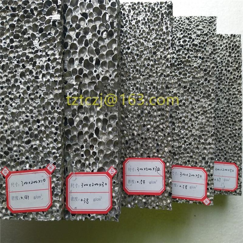 Alumínio fechado da espuma da pilha 6mm 8mm 10mm 15mm/placa de alumínio decorativa da espuma para o salão de exposição interno e exterior