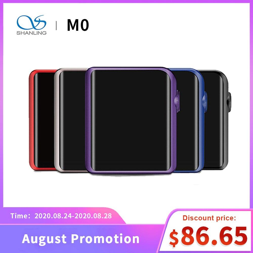 SHANLING M0 Mini jugador Mp3 portátil Mp3 Player Bluetooth ESS Sabre ES9218P DSD música sin pérdidas Flac de alta fidelidad