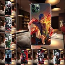 Miękkie etui na telefony pokrywa Anime tokio ghul 2020 dla Motorola Moto G G2 G3 G4 G5 G6 G7 Plus