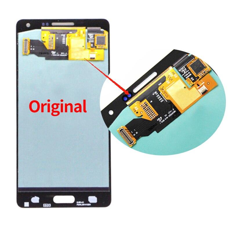 Display Amoled para SAMSUNG Galaxy A5 2015 A500FU A500 A500M A500F Lcd Screen Display Toque Digitador Assembléia