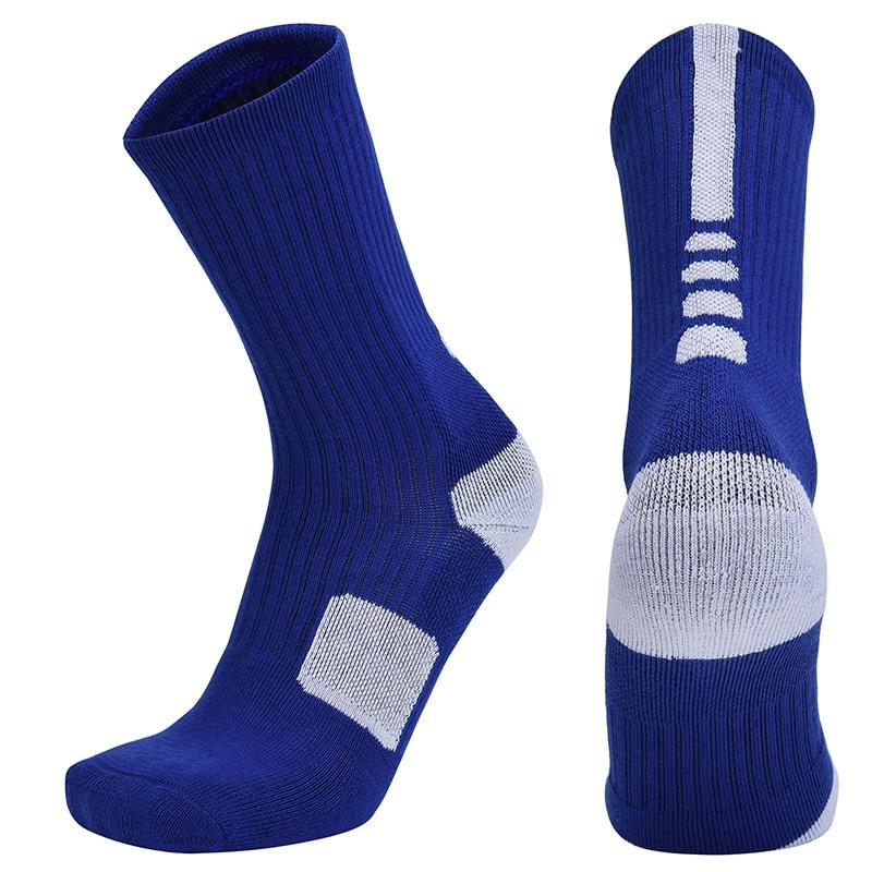 Мужские велосипедные носки, летние длинные баскетбольные носки, мужские походные носки, защитные футбольные носки, нескользящие носки для ...
