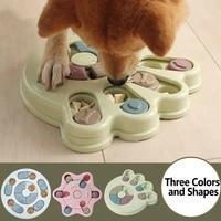 dog puzzle toys increase iq happy interactive slow dispensingtraining games feeder feeding pet dog for small medium dog puppy