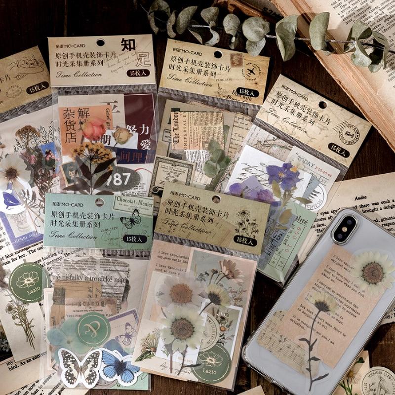 caliente-14-disenos-15-unids-pack-vintage-pegatinas-de-material-scrapbooking-suministros-de-papeleria-bala-revista-pegatinas-de-etiqueta-para-telefono