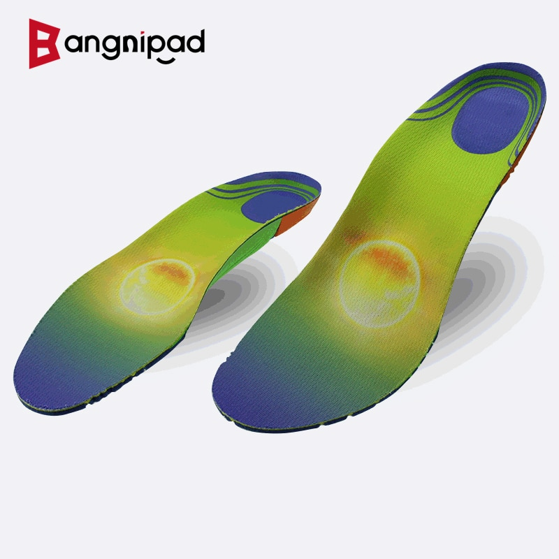 BANGNIPAD Comfort Insoles Nursing Rehabilitation Breathable Shoe Pads Arch Support Shock Absorb Sole for Feet Inserts Men Women