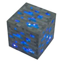 Hot Diamond Ore Light Up Led Night Light Cosplay toy gift Blue