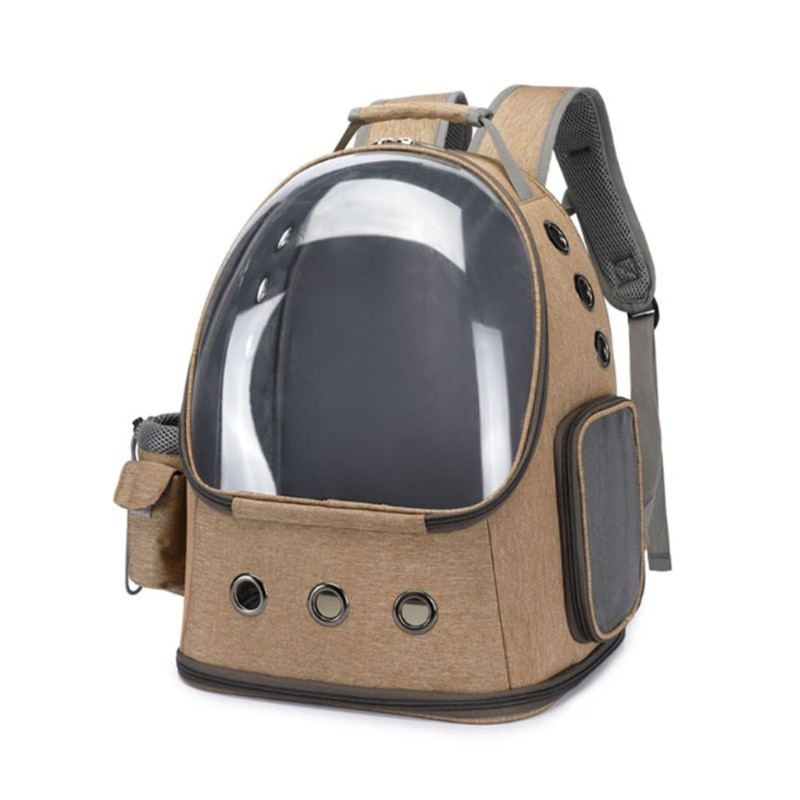Pet Cat Carrier Backpack Bubble Space Capsule for Small Dogs and Puppies Pet Travel Backpacks Breathable Outdoor Hiking Walking