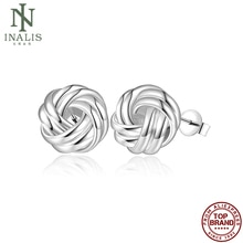 INALIS Vintage Flower Shaped Earrings Silver Color Earrings For Women Fashion Jewelry Hot Selling Va
