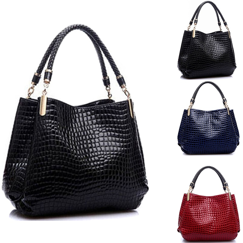 Famous Designer Brand Bags Women Leather Handbags 2020 Luxury Ladies Hand Bags Purse Fashion Shoulder Bags Bolsa Sac Crocodile