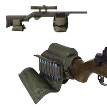Sac de sable tactique non rempli tir Sniper fusil sac de soutien + sac de repos de joue avec pochette de chargeur accessoires de pistolet de chasse