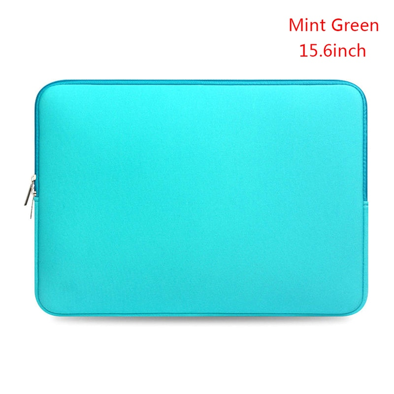 Portable Laptop Notebook Case Computer Pocket Women Men 14 15.6 Laptop Bag Carry Case For Macbook/No