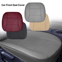 universal car front seat cover breathable pu leather cushion protector mat auto seat cushion car interior accessories