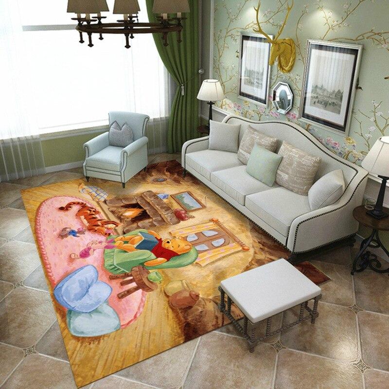 سجادة أرضية مطبوعة هندسية كبيرة الحجم ، ديكور غرفة النوم ، سجادة سرير غير قابلة للانزلاق ، باب الفندق ، 1x1.6 متر