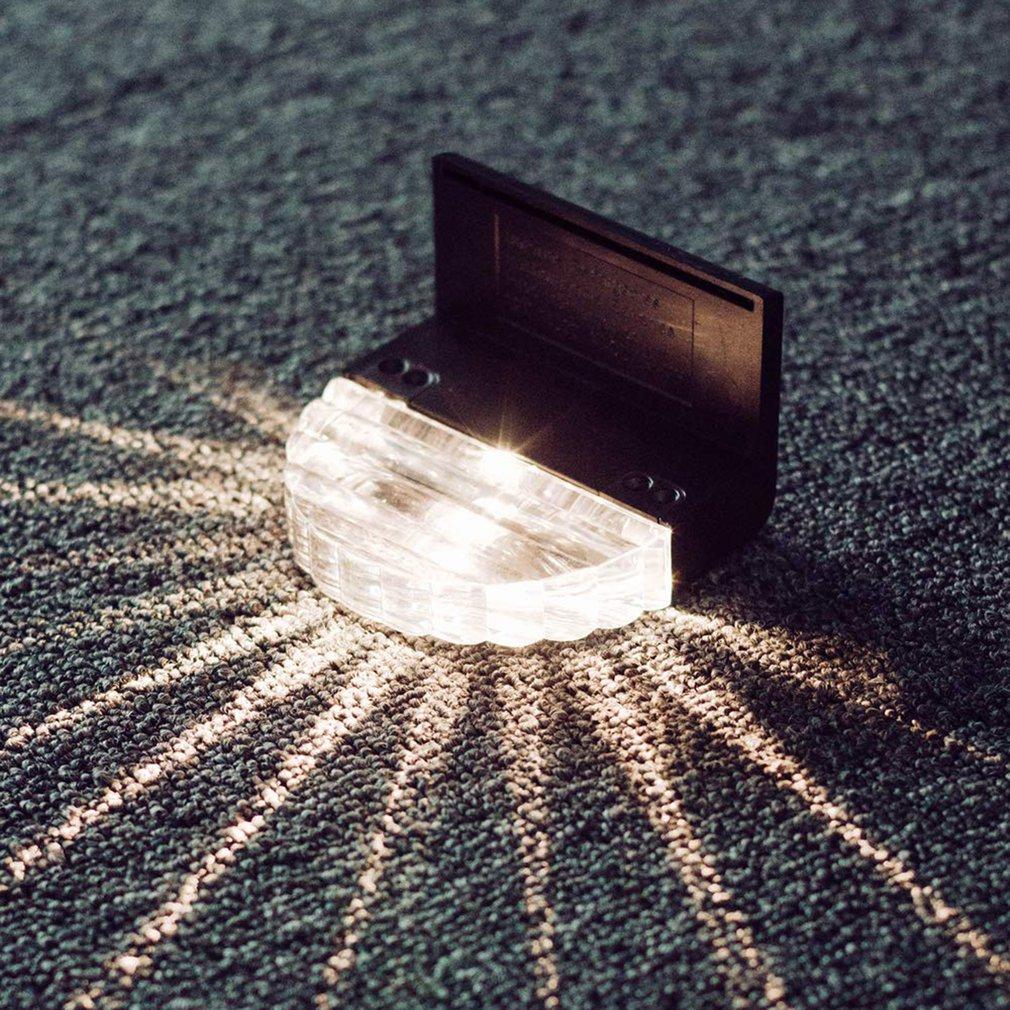 Уличный Водонепроницаемый светодиодный фонарь на солнечной батарее, освещение для забора, для внутреннего дворика, лестницы, двора, сада, т...