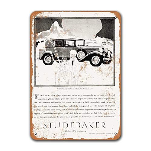 Постер для бара, декор для стен дома, кофейного клуба, ресторана, 1929 студенческие автомобили, паб, винтажные автомобильные жестяные знаки, ме...