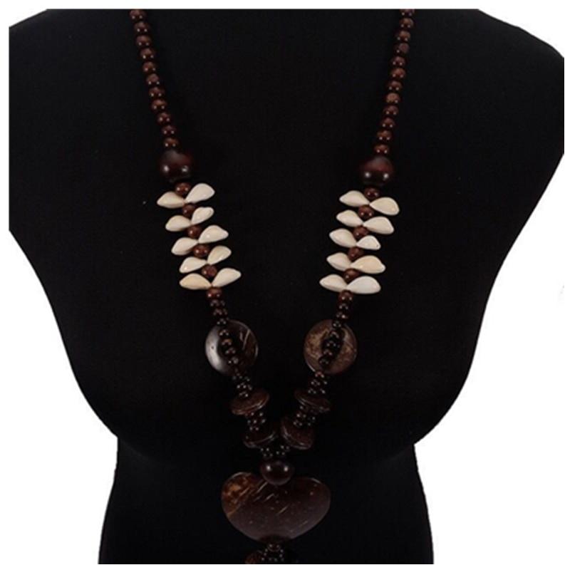 2020 novo colar de moda natural concha de coco estilo boêmio venda quente novo colar