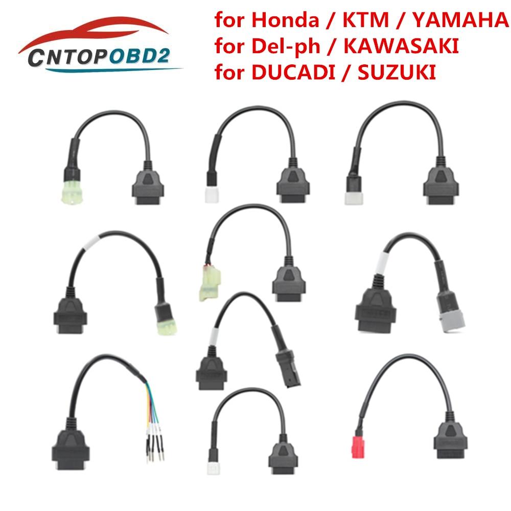 Conector OBD2 para motocicleta, Cable de extensión de 3 pines, 4 pines,...