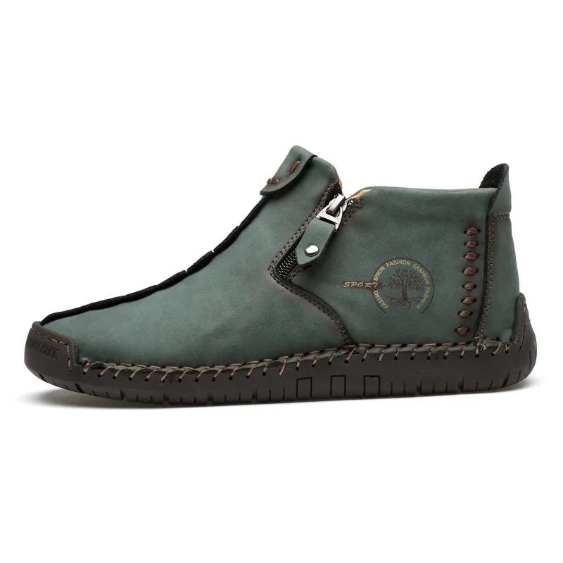 Осенне-зимние новые мужские фонарики, мужские ботинки, повседневная обувь больших размеров 45-48