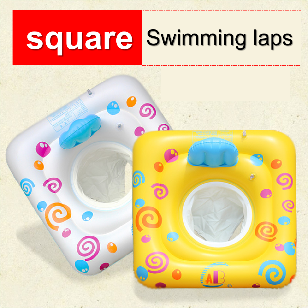 Inflatable Circle Swim Ring Seat Boat Safety Baby Float Pool Ring Toddler Children's Swimming Float Summer Baby Water Toys