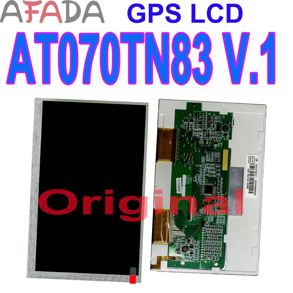 2 шт. Оригинальный ЖК-экран At070tn83v.1 GPS ЖК-дисплей Замена панели At070tn83v.1 дисплей