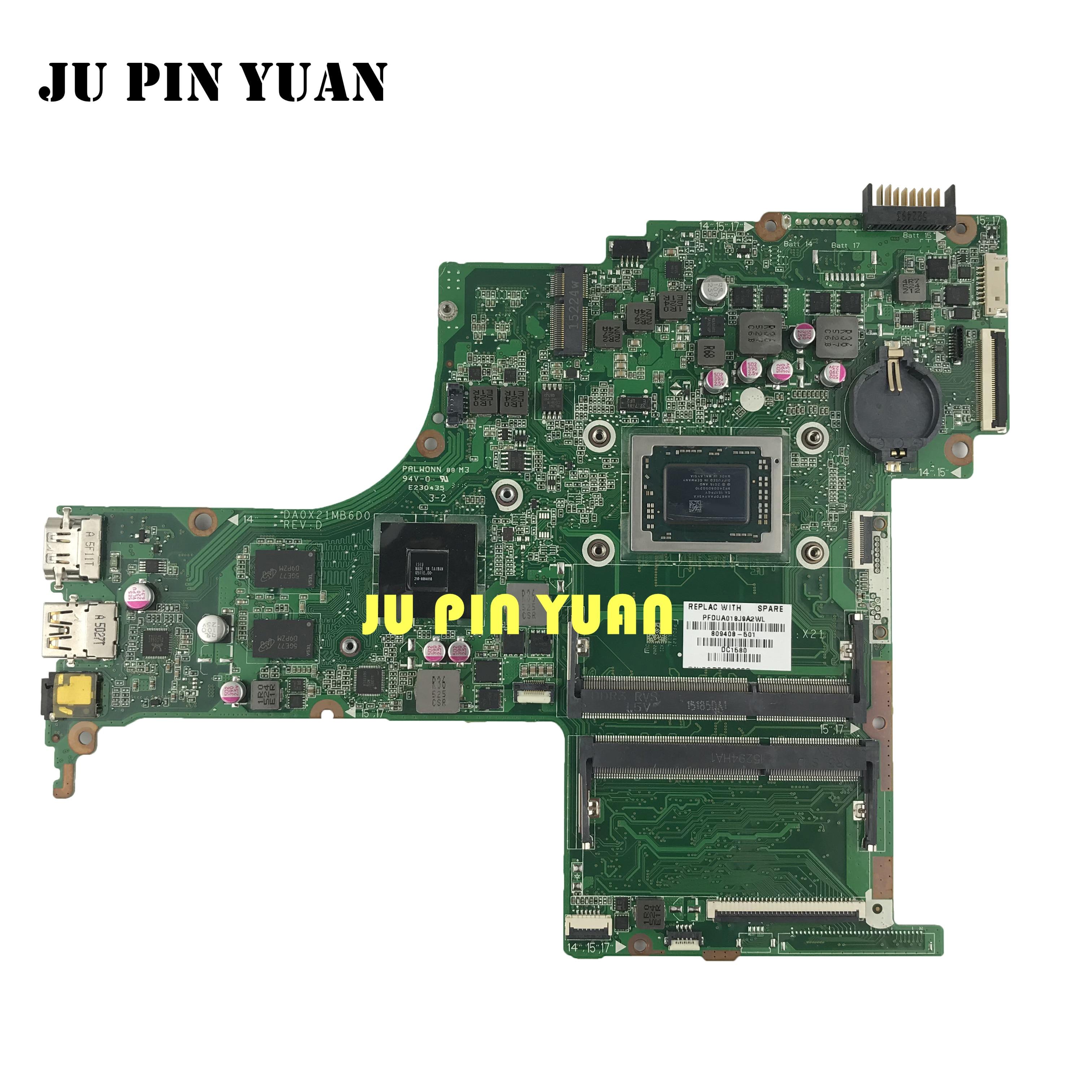 ل HP جناح 15-AB A10-8700P R7 M360 2GB اللوحة المحمول 809408-501 844805-501 809408-001 DA0X21MB6D0