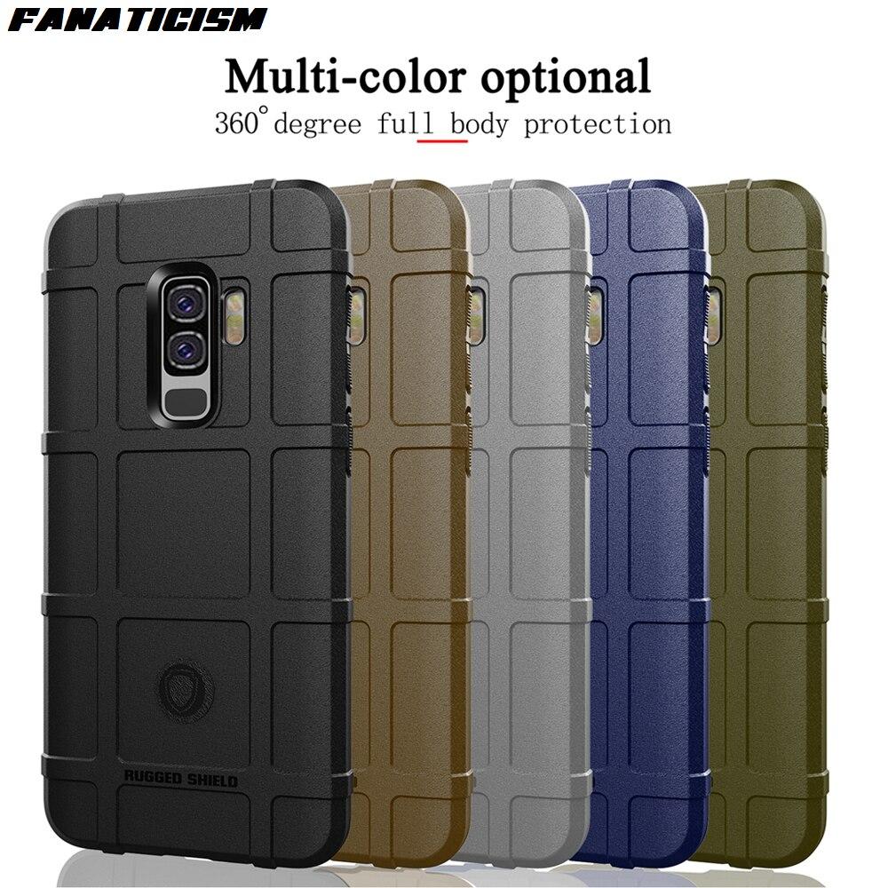 غطاء حماية متين من السيليكون TPU لهاتف Galaxy S8 S9 ، جراب درع لهاتف Samsung S8plus S9plus ، 300 قطعة