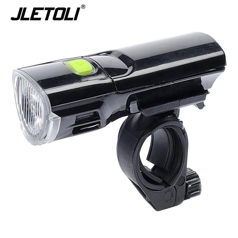 Jetoli-Luz Led para Bicicleta de montaña, linterna para Bicicleta, Accesorios, faro